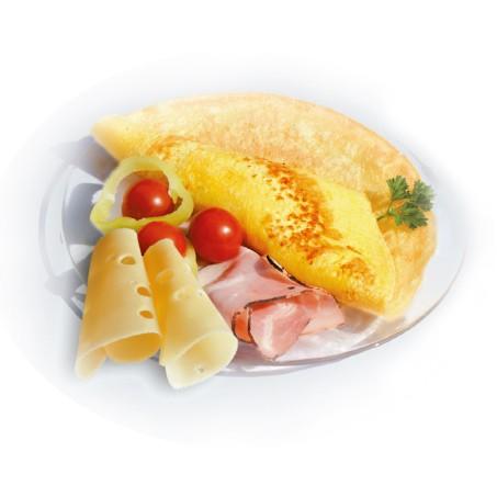 Crêpe-mit-Schinken-Käse-Geschmack