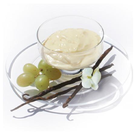 Pudding,-Mousse-oder-Kaltgetränk-mit-Vanillegeschmack